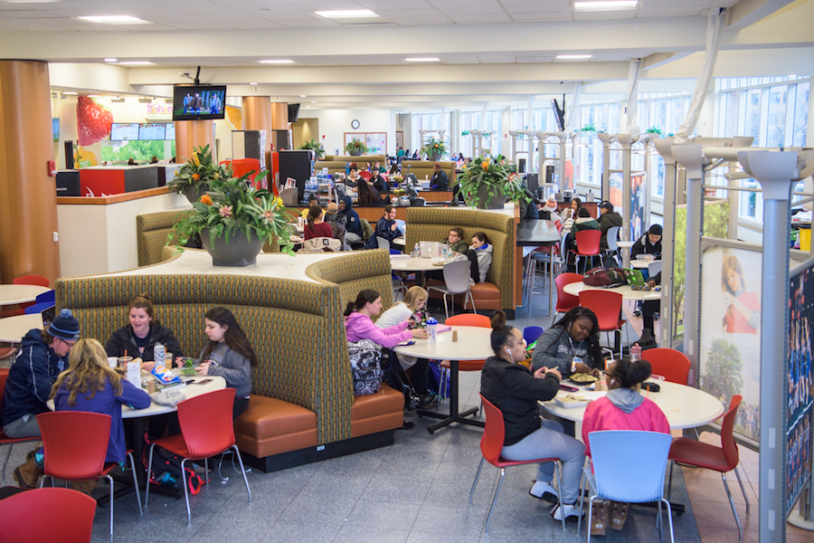 Student center food court