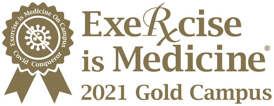 Exercise is Medicine 2021 Gold Campus Award