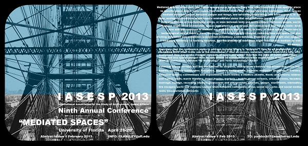 2013 IASESP Conference Poster