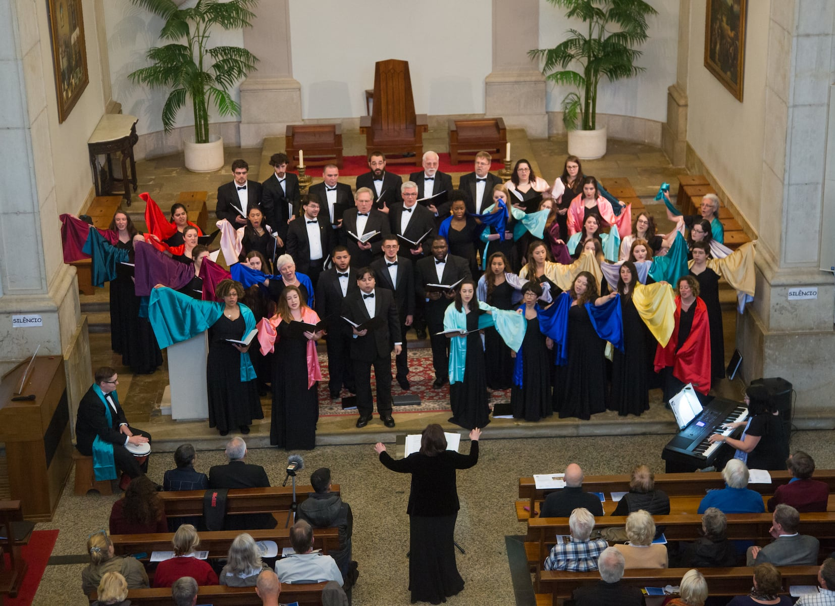 Choir performance