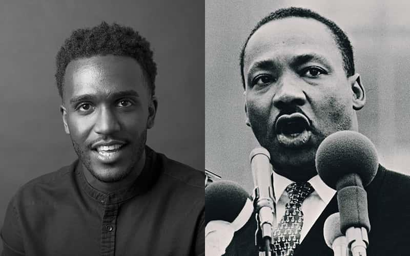Nyle Fort and Martin Luther King Jr.